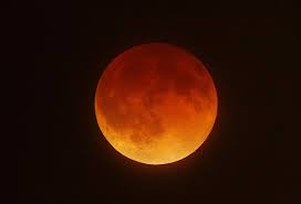 Blood moon this week